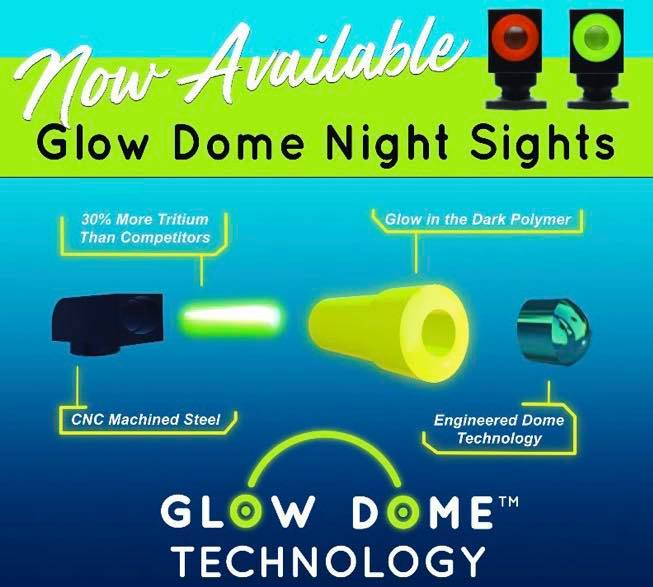 NEW Night Fision Tritium Night Sights with Glow Dome Technology (3)
