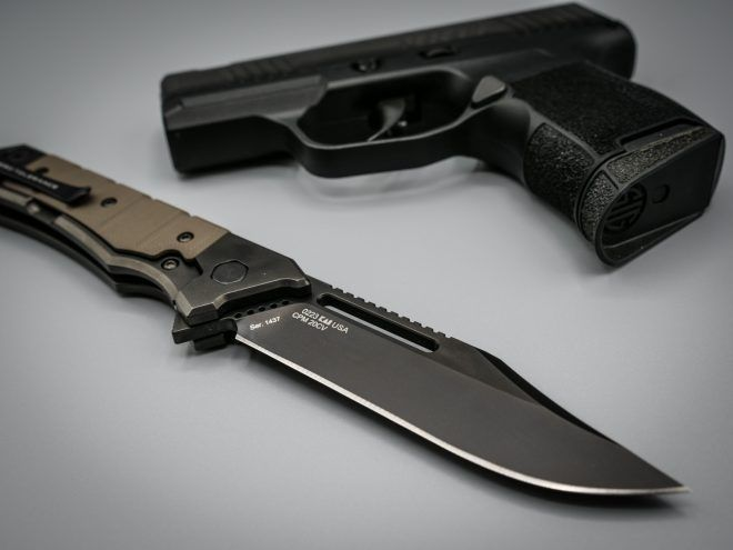 Zero Tolerance 0223 and SIG P365 SAS
