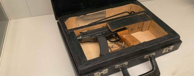 CZ Scorpion Briefcase Gun
