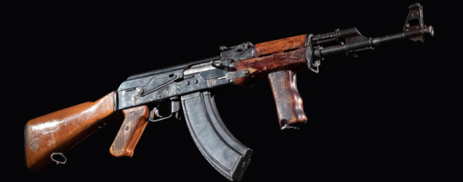 Mikhail Kalashnikov's Experiments of Improving AK-47 in 1950s (1)