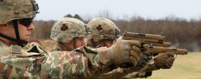 SIG Sauer Delivers 100,000th M17 M18 MHS Pistol to U.S. Military - 1