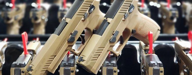 SIG Sauer Delivers 100,000th M17 M18 MHS Pistol to U.S. Military