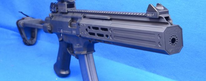 VENOM Suppressor for CZ Scorpion EVO 3 by Manticore Arms and Rat Worx (1)