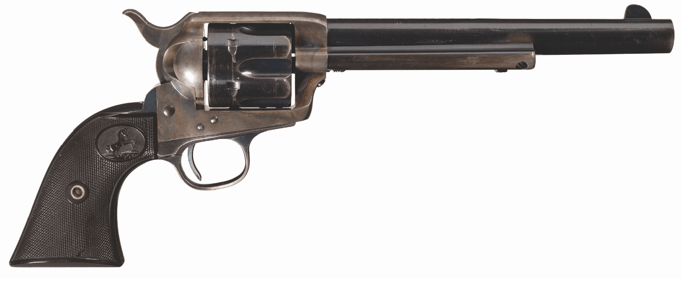 Wheelgun Wednesday Smoothbore Colts of Exhibition Shooters - SAA (2)