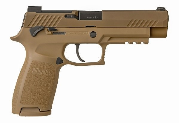 Sig Delivers 100,000th MHS handgun to US Armed Forces