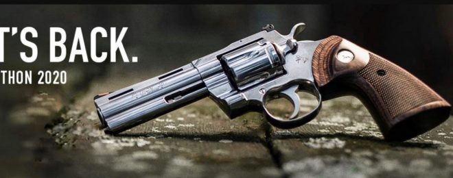 Wheelgun Wednesday: The Return Of The New Colt Python