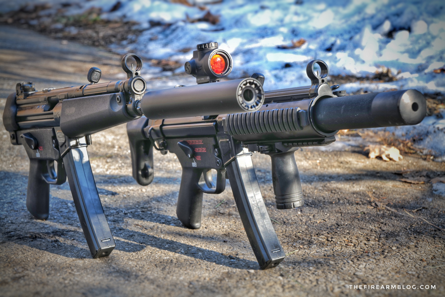 SILENCER SATURDAY #105: H&K SP5 Vs MP5SD And NFA News
