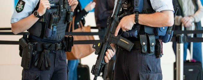 Australian Federal Police select Daniel Defense Mk18 SBR's