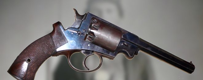 Adams-Kerr Double Action Revolver of 1858