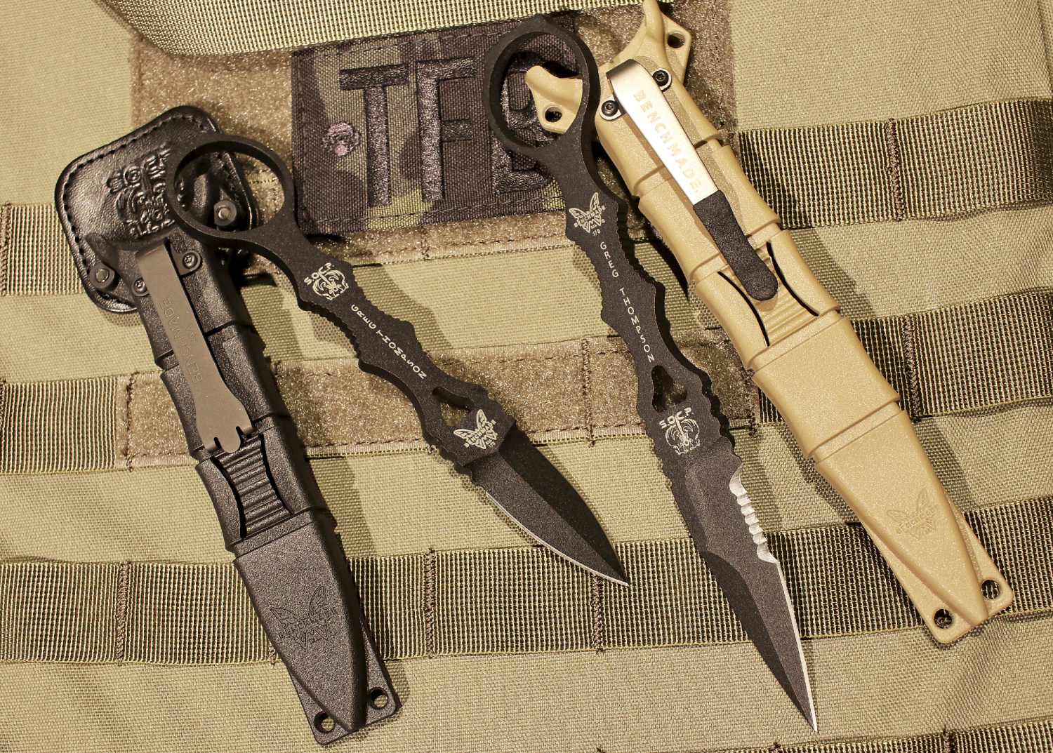 Various Sizes and Colors Benchmade 178 SOCP Fixed Blade Dagger