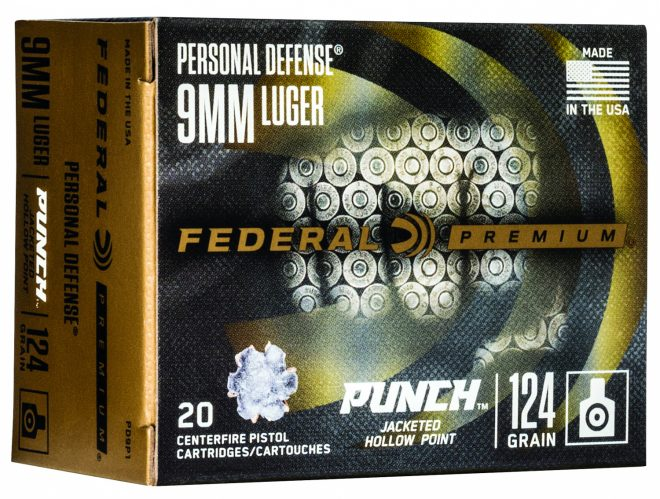 Federal PUNCH Defensive Handgun Ammunition Line (1)