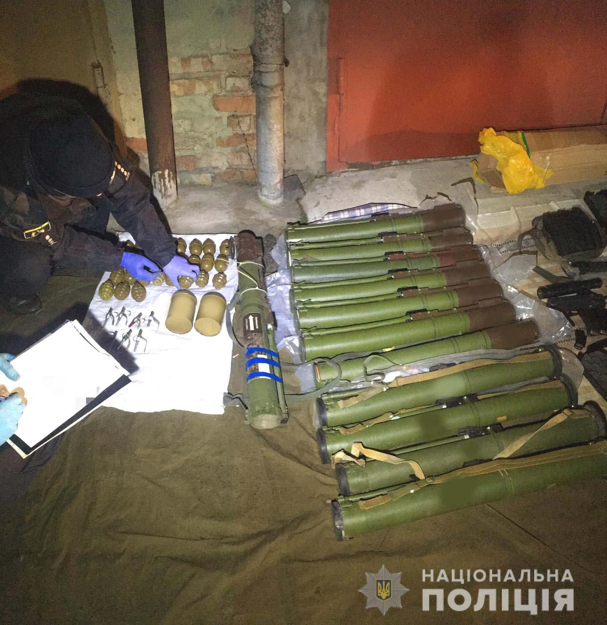 Illegal Weapon Cache Seized by National Police of Ukraine (2)