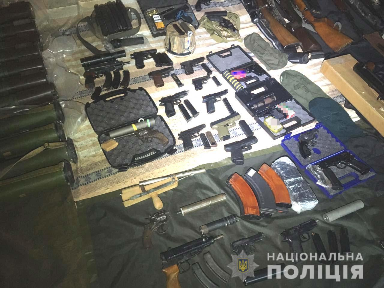 Illegal Weapon Cache Seized by National Police of Ukraine (3)