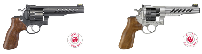 Ruger SUPER GP100 Custom Shop Competition Revolver Now Available in 9mm Luger (11)