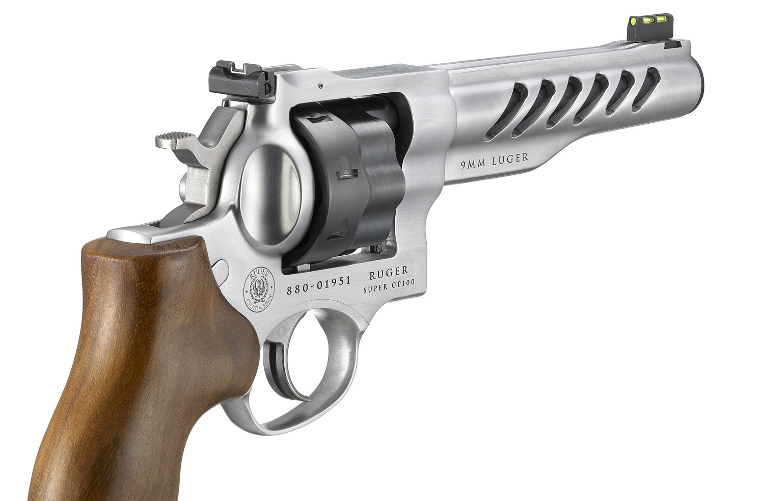 Ruger SUPER GP100 Custom Shop Competition Revolver Now Available in 9mm Luger (3)