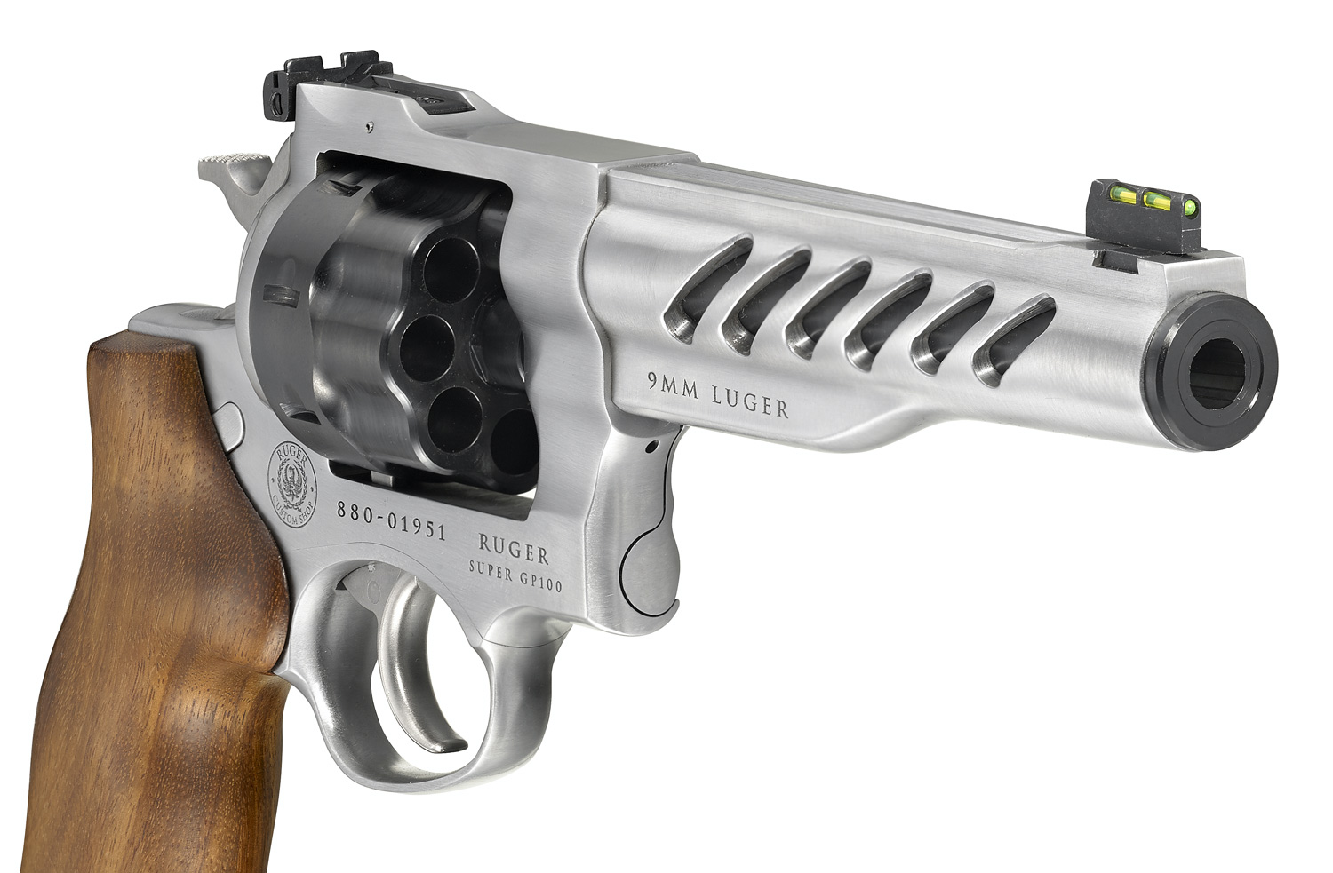 Ruger SUPER GP100 Custom Shop Competition Revolver Now Available in 9mm Luger (5)