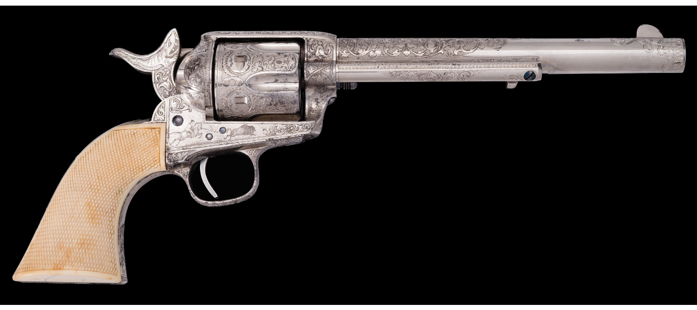Top 5 Most Expensive Firearms Sold in December 2019 Rock Island Premier Firearms Auction - Colt SAA (1)