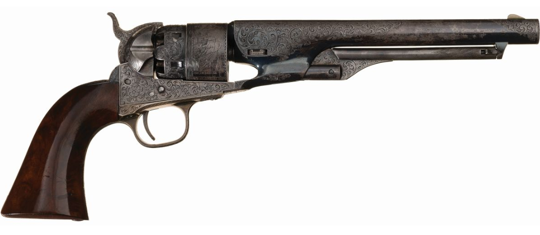 Top 5 Most Expensive Firearms Sold in December 2019 Rock Island Premier Firearms Auction - McClellan Colt (1)