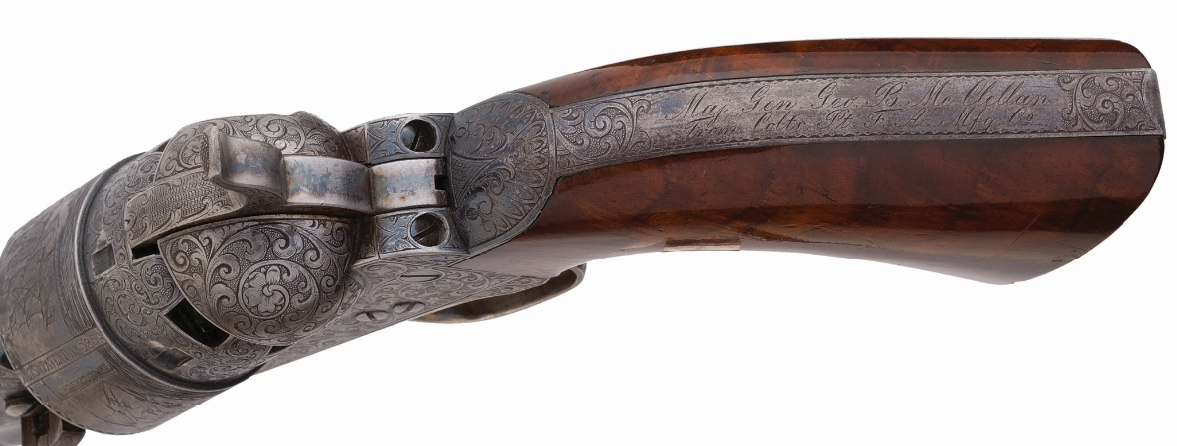 Top 5 Most Expensive Firearms Sold in December 2019 Rock Island Premier Firearms Auction - McClellan Colt (2)
