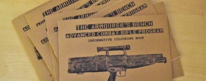 Advance Combat Rifle Coloring book
