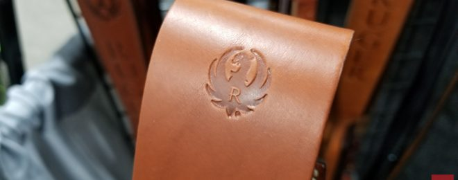 Ruger Leather Magazine Pouches