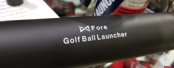 [SHOT 2020] X Products Fore Golf Ball Launcher