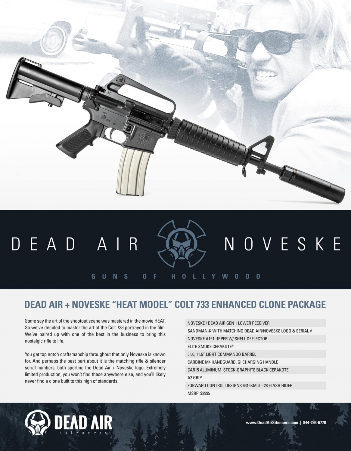 The leaked product sheet from Dead Air and Noveske