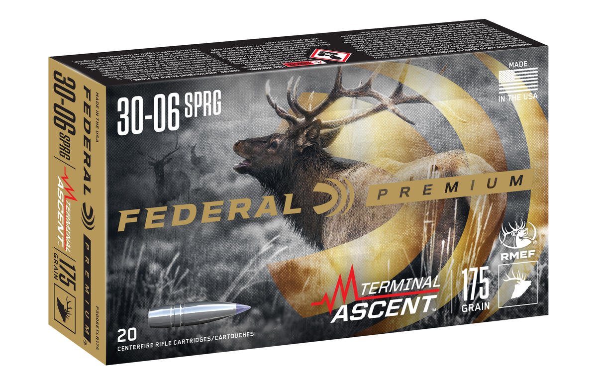 Federal TERMINAL ASCENT Hunting Rifle Ammunition and Bullets (1)