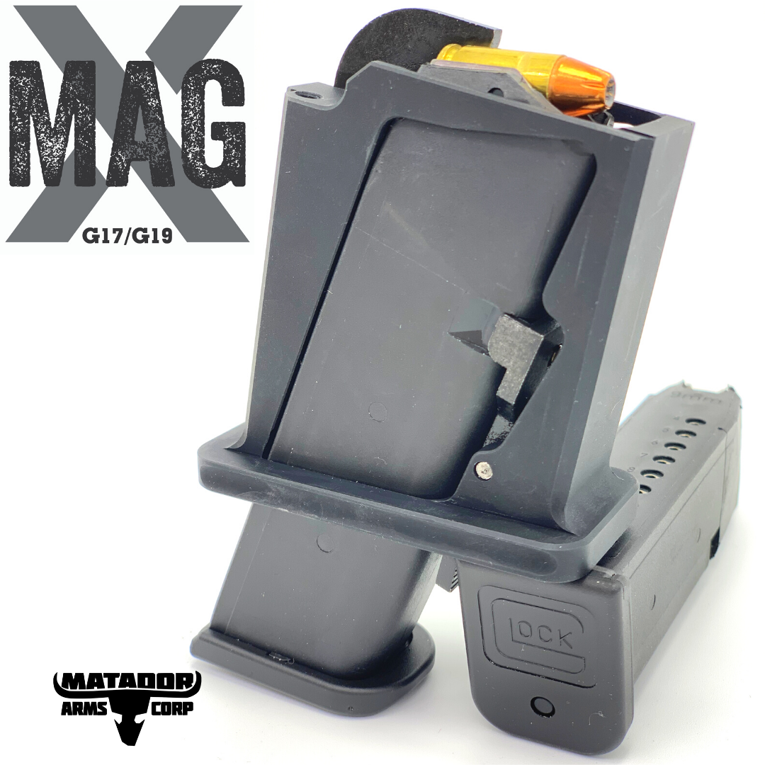 Matador Arms Mag-X AR-15 Magwell Adapter Now Takes GLOCK Mags (2)