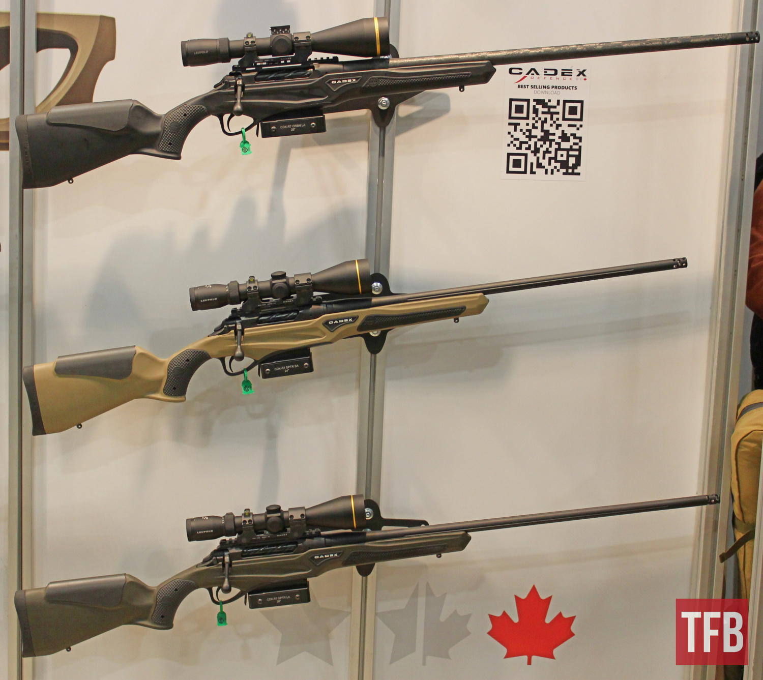 [SHOT 2020] Cadex Defence CDX Hunting Rifles, Tundra Strike Stock and Other New Products (33)