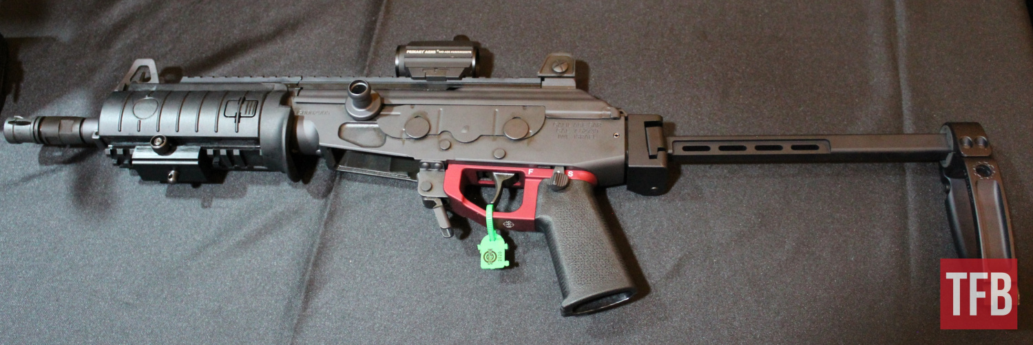 [SHOT 2020] KNS Precision Galil ACE Aluminum LowerGrip and Adjustable AK Aperture Sight (3)