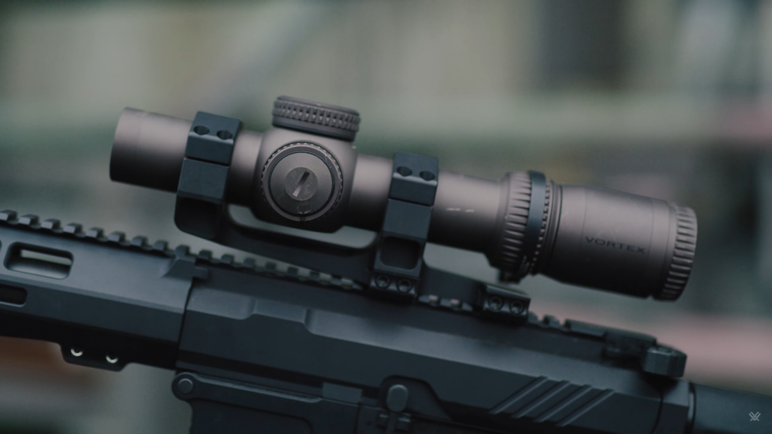 A frame from Vortex's hype video shows the Gen III 1-10x mounted.