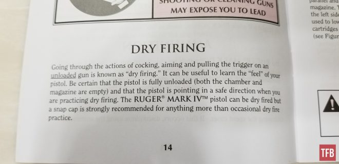 The Rimfire Report: Dry Fire Your Rimfire