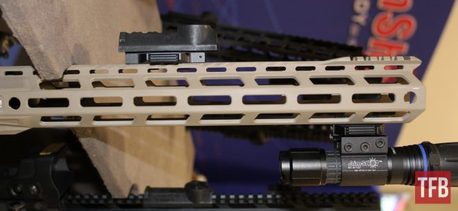 AimShot M-LOK and KeyMod Quick Release Picatinny Rail Sections (1)