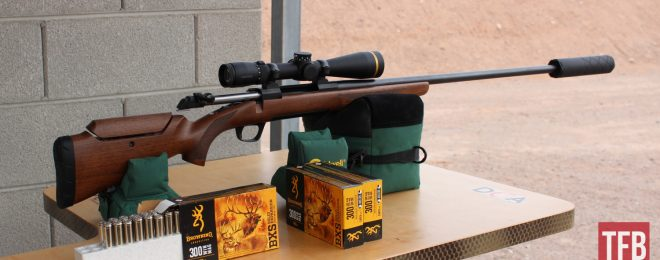 Browning X-Bolt Hunter Long Range Bolt-Action Rifle (1)