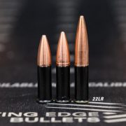 Cutting Edge Bullets 22LR ELR Ammo with Solid Spitzer Bullets (1)