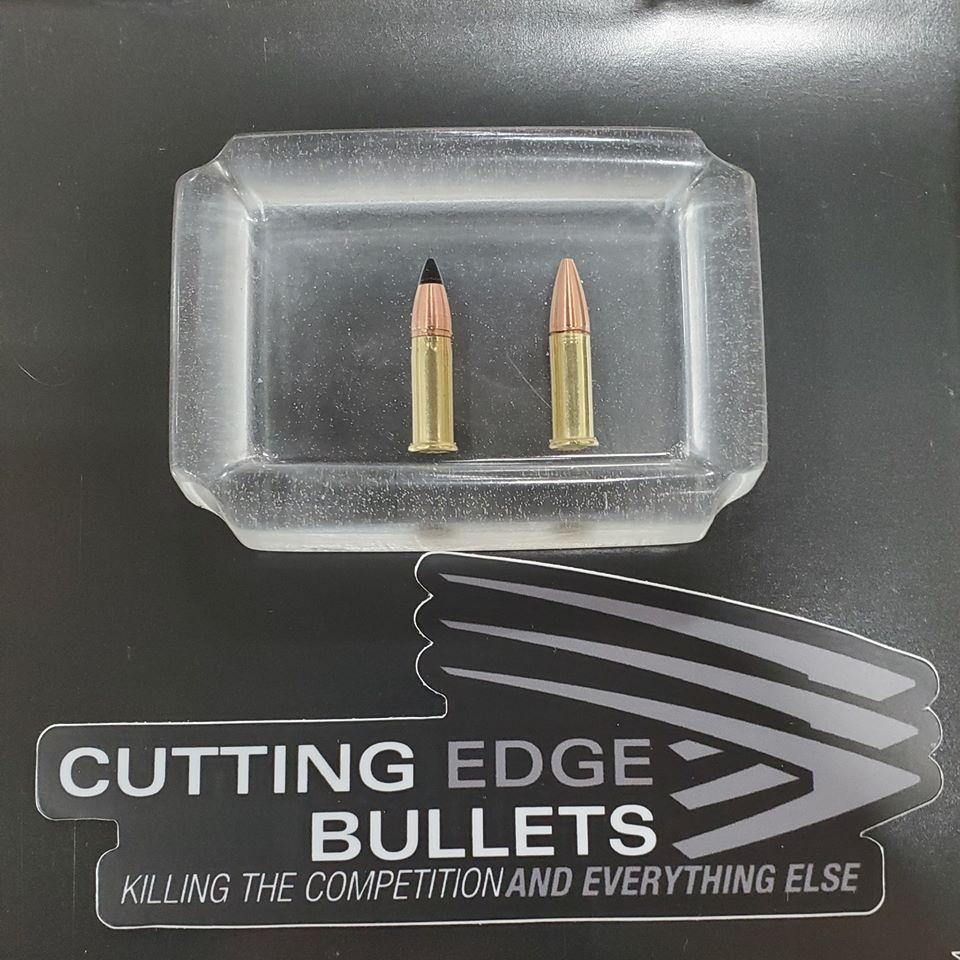 Cutting Edge Bullets 22LR ELR Ammo with Solid Spitzer Bullets (2)