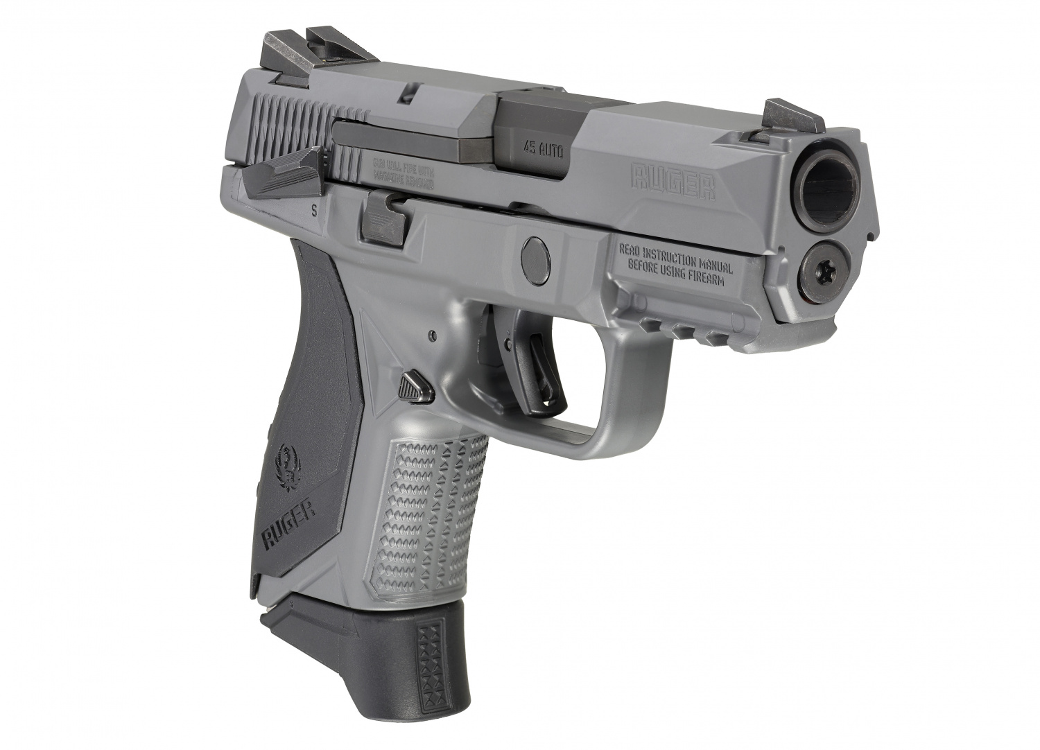 New Ruger American Compact In Gray