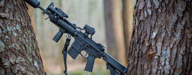 SHTF Guns: KAC/Colt AR-15 - Short Barrel - 5.56mm - Suppressed