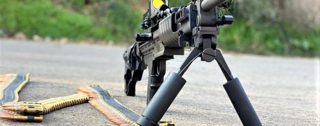 India Negev Light Machine Gun