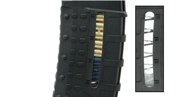 Leapers UTG AR-15 30-Round Windowed Polymer Magazines (111)
