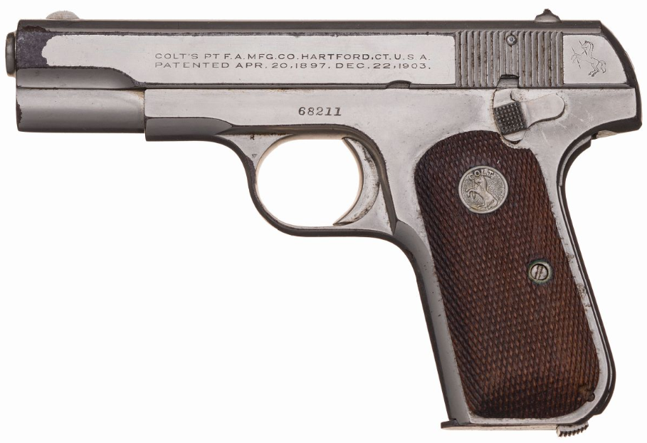 Pistols Attributed to Al Capone and Pretty Boy Floyd (2)