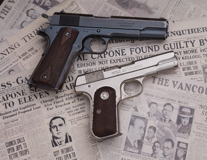 Pistols Attributed to Al Capone and Pretty Boy Floyd to be Auctioned at RIAC