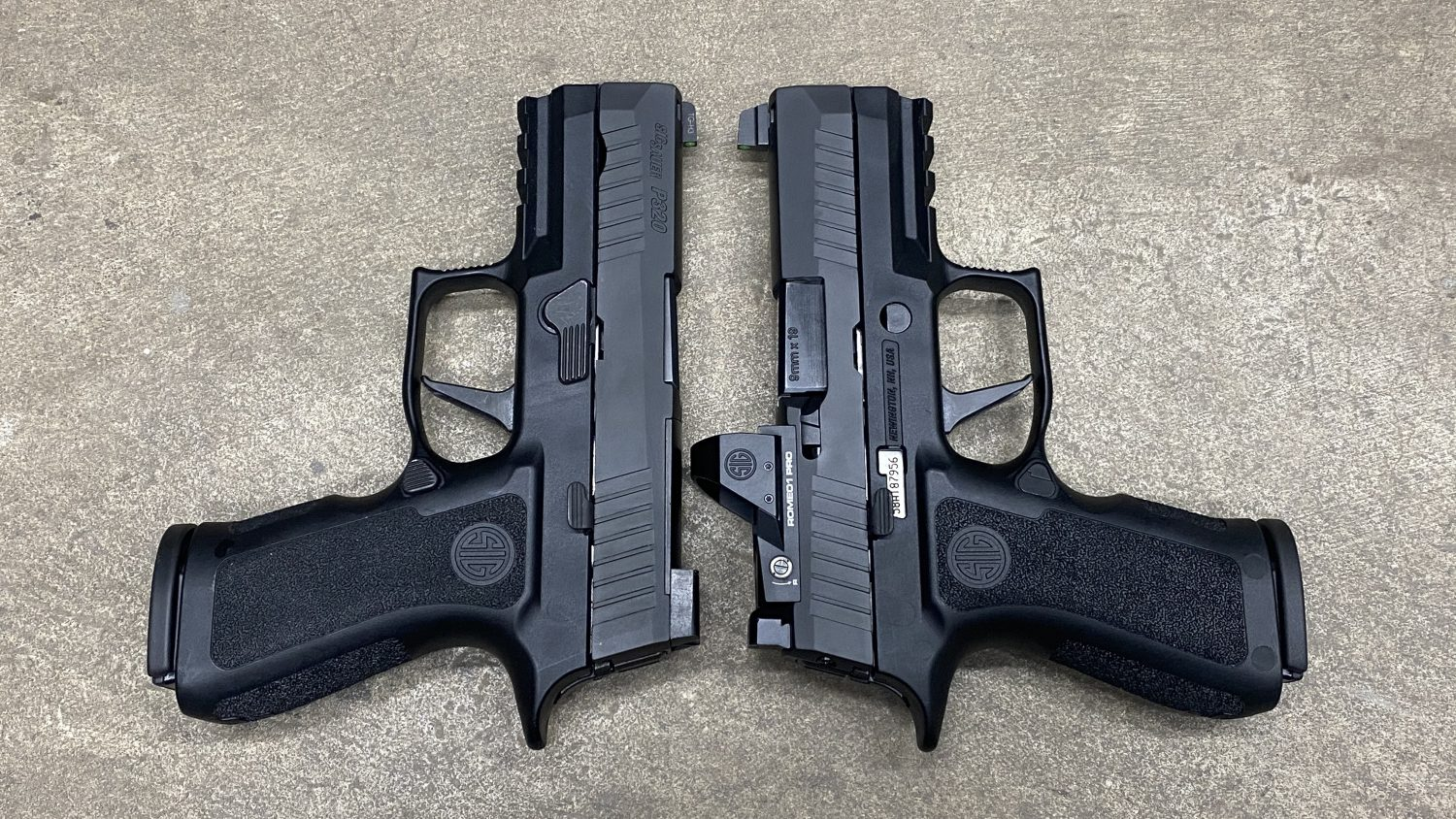 SIG Sauer RXP XCompact vs XCompact - What's The Difference? -