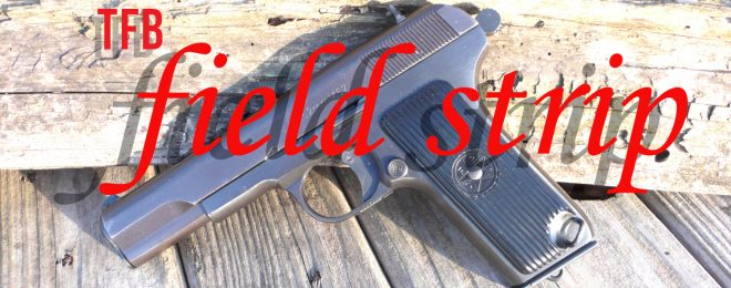Zastava M57, M70 & TT-33 field strip
