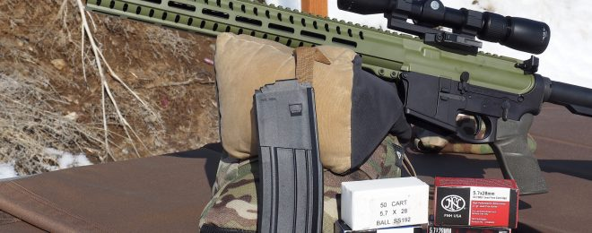 CMMG Mk57 Upper Conversion