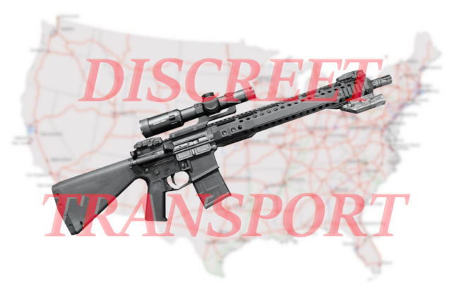 Discreet rifle transport