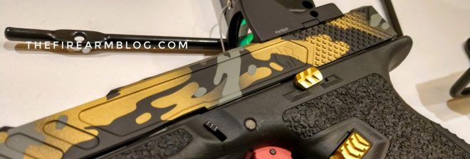 New Extended Glock Slide Release from Tyrant Designs