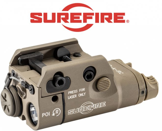 PRESS RELEASE FOR PUBLISHING ON MONDAY 4/13/2020 Fountain Valley, CA—SureFire, LLC, manufacturer of the world's finest—and most innovative—illumination tools and tactical products, wants to shed some light on the XC2-A-IRC. Before we get in to it, you should know this product probably isn't designed for you. This product was designed for a specific end-user who had a requirement for an ultracompact infrared (IR) light & IR aiming laser combination. As such, the XC2-A-IRC is SureFire's smallest, lightest dedicated IR light and laser combination. Its recoil-proof LED is focused by a multi-faceted reflector to create a broad, 850-nanometer infrared MaxVision Beam® that's perfect for enhancing the capability and image quality of modern night vision goggles (NVGs). Its 845-nanometer infrared laser stands out when viewed with NVGs and, once zeroed, rarely needs re-zeroing thanks to adjustment screws that stand up to the effects of recoil. It can be powered by a AAA lithium, NiMH or alkaline battery, and its ambidextrous switching provides both momentary- and constant-on activation for ultimate controllability. Ultracompact, lightweight and rugged, the XC2-A-IRC is built to rule the night. About SureFire—Located in Fountain Valley, California, SureFire, LLC is the leading manufacturer of suppressors, high-performance flashlights, weapon-mounted lights, and other tactical equipment for those who go in harm's way, or anyone who demands the ultimate in quality, innovation, and performance. SureFire illumination tools are used by more SWAT teams and elite special operations forces than any other brand. SureFire is an ISO 9001:2008-certified company.