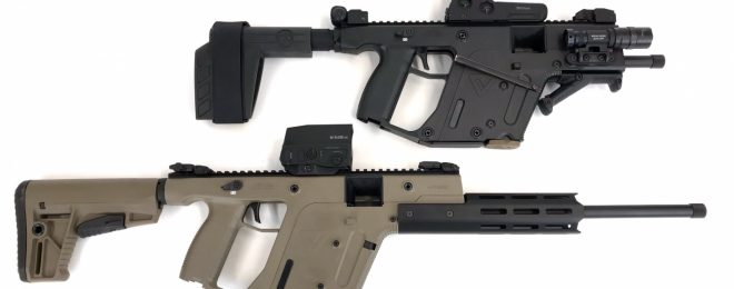 Vector 22 rifle and pistol